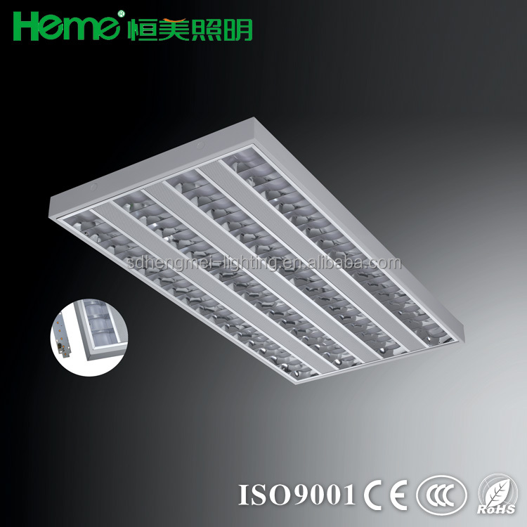 "LED Troffer 2x4 FT ceiling office panel lighting , 96w 6500K, 5800 Lumens, 24 x 48"", 220V-240V"