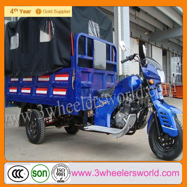 China Supplier High Quality Motorized Cargo Electric Tricycle /closed cabin Cargo Tricycle