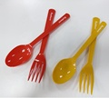 16cm Plastic Fork And Spoon Sets