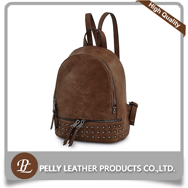 Useful fashion PU school bags trendy backpack