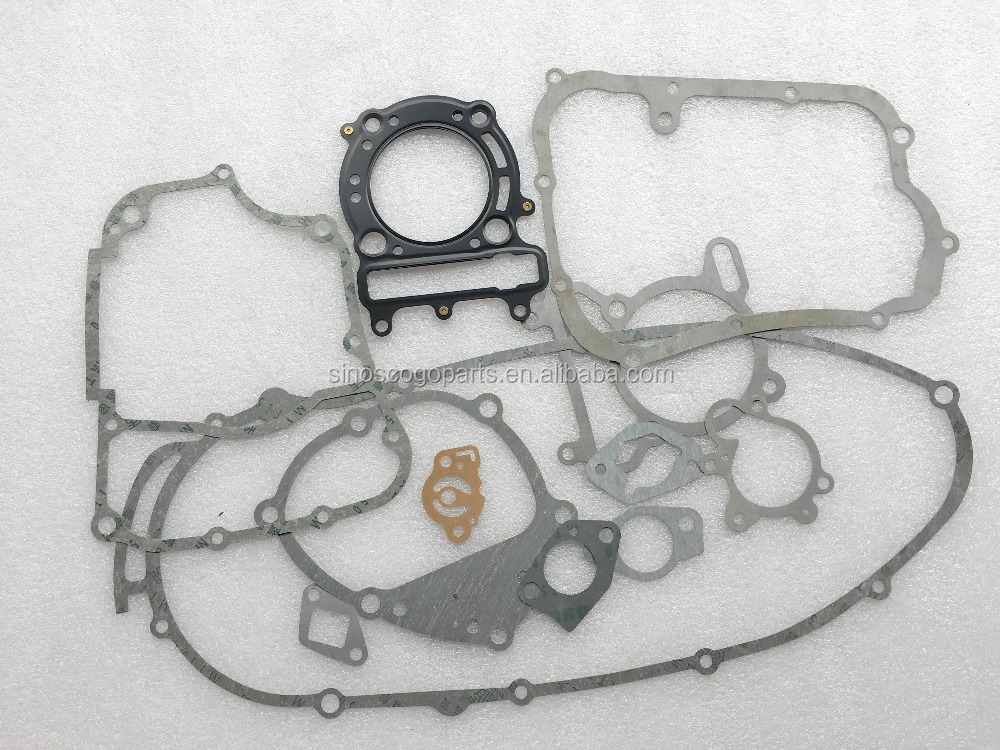 Buyang Feishen & LINHAI 260cc 300cc ATV GO KART BUGGY gasket sets, 260cc/300cc/250cc All gaskets, ATV250/ATV300cc Parts.