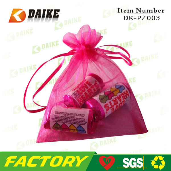custom Organza gift packaging sac DK-PZ003