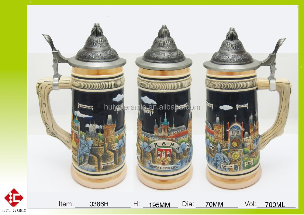Factory Price High quality and whole sale ceramic mug with lid
