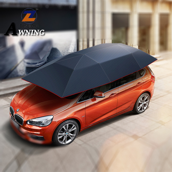 High density umbrella car parking shade holder with Rohs