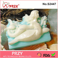 PRZY s2447 Wholesale Silicone Turtle Handmade Vegan Soap Mold
