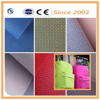 100% Polyester Waterproof Oxford 600d Fabric with PU Coating