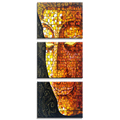 Mosaic Buddha Picture Print on Canvas Framed Modern Wall Decoration Goods HD Canvas Photo Printing Home Decor Ready to hang