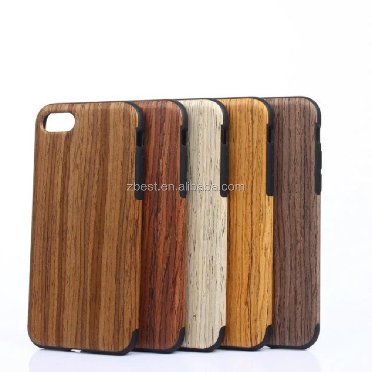 Factory Eco Friendly Personalized Wooden Cell Phone Case For Iphone 6 6 plus , Wooden Case For IPhone 7