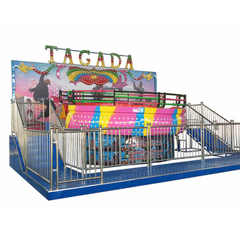 Funfair Amusement Rides disco music tagada for sale