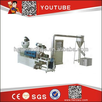 SJ-A100 Wind-cooling Hot-cutting plastic Recycling Compounding Machine