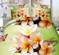 3D Reactive Printing Beauti Cotton Bed Sheet Clearance Set Wholesale 3D