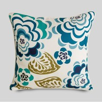 Doll house decoration printed flower decorative pillow case