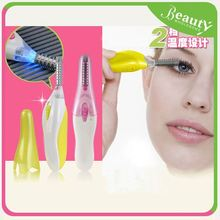 lash extension curler ,H0T022 eyelash extension tweezers , 2016 simple classic pen shape heated eyelash curler