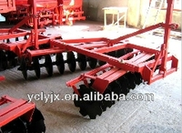 3 point hooked light Disc harrow for 4 wheel tractor