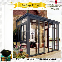 KSB factory good quality aluminum sunroom 3.0mm