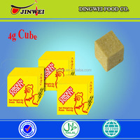 2017 Muslim green food halal chicken bouillon/stock/seasoning/cooking/soup/sauce cubes for africa market