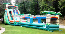 happy hop inflatable water slide