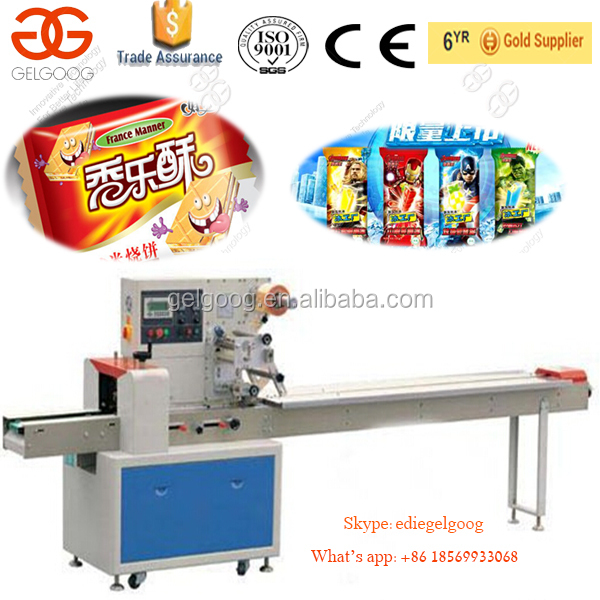 High Quality Ice Lolly Packing Machine Pillow Packing Machine