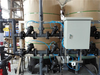 large scale industrial fiber glass tank for quartz sand filter and carbon filter use