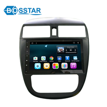 best buy Nissan TIIDA 2016 android car stereo audio dvd player with wifi gps quad core android 6.0 system