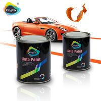 free samples KINGFIX car paint (1k primer surfacer-polyester putty) -auto paint