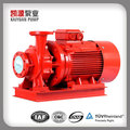 XBD Electricity Fuel and Single-stage Pump Structure Fire Pumps