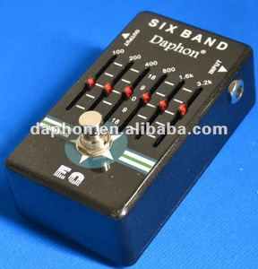 Daphon pedal effect-Good sound Six Band Equalizer