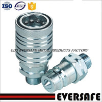 Push And Pull Type Hydraulic Quick Release Couplings for agriculture, ISO 7241-A interchange