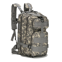 2017Hiking Trekking Camo Army Camouflage Survival Outdoor Activity knapsack thick military canvas tactical backpack