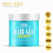 Free samples organic raw materials Brightening Hair Edge Control Tamer Gel for salon