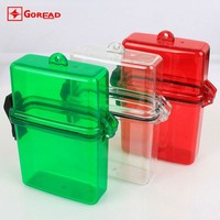 watch waterproof case for watch mobile flashlight battery Plastic box 50g