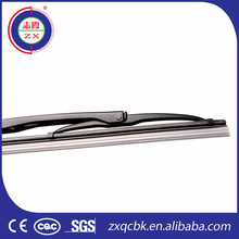 Excellent wiping performance double windshield soft wiper blade for car