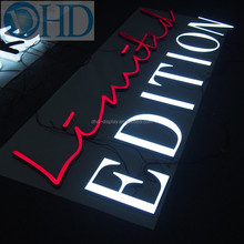 Mini acrylic led sign channel letter/bending machine making acrylic lighting letters