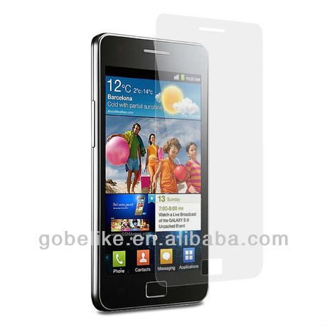 Clear screen protector for Samsung Galaxy S i9000 screen protector