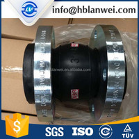 Air/water/oil EPDM Flange Flexible Rubber Pipe Connector