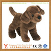 Plush cute small brown labrador