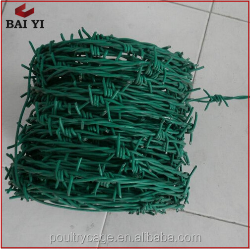 Galvanized Iron Coiled Security Colorful Barbed Wire With Best Design And High Quality Hot Sale Online