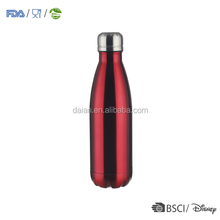 Double wall vacuum insulated stainless steel water bottles