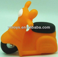squeaky motorbike,PVC toy,new bath toy for kids