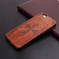 real wood phone case cover for iphone 6 hot sale wholesale natural wooden hard case for iphone 6 case best price