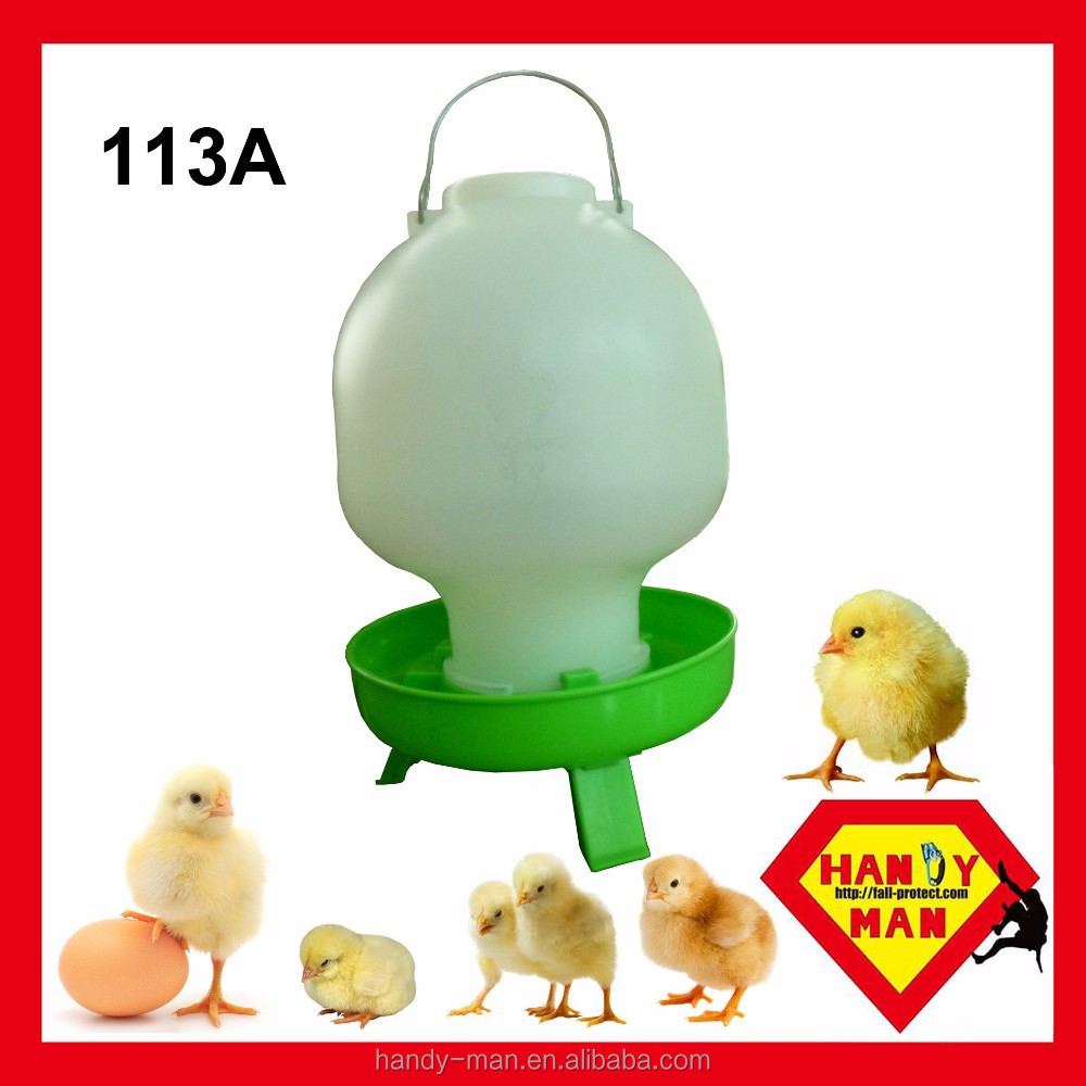 Plastic Ball Type Drinker With 3 Legs Poultry Drinker
