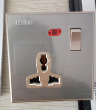 New product 13A Multi 3 pin Electrical Switch Socket