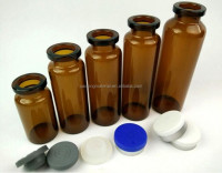 Pharmaceutical injection glass vials bottles 5ml 10ml 20ml 30ml for glass medical vial
