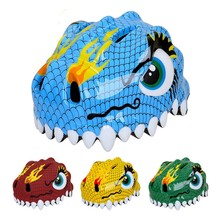 Cartoon Dinosaur Ultralight EPS Child Road Cycling MTB Bike Bicycle Helmet