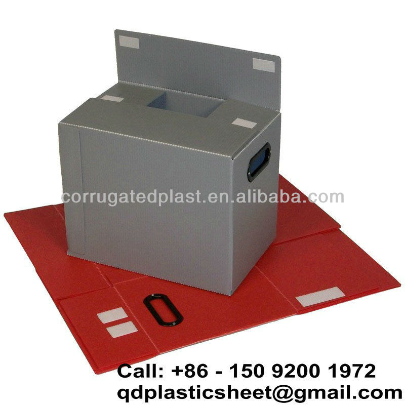 Eco-friendly Plastic Correx Box