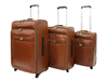 New design fashionable Vintage Trolley Crazy Horse Leather Luggage set