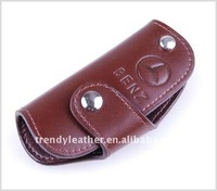 Customized leather car key case