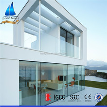 Low-e double glazing building glass for window