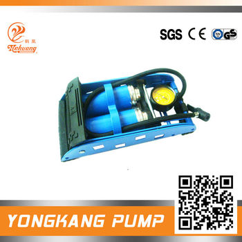 new style irony frame double foot pump ;