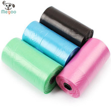 20pcs/lot=1 roll Portable Dog Cat Waste Pick Up Clean Bags Plastic Garbage Carrying Bag
